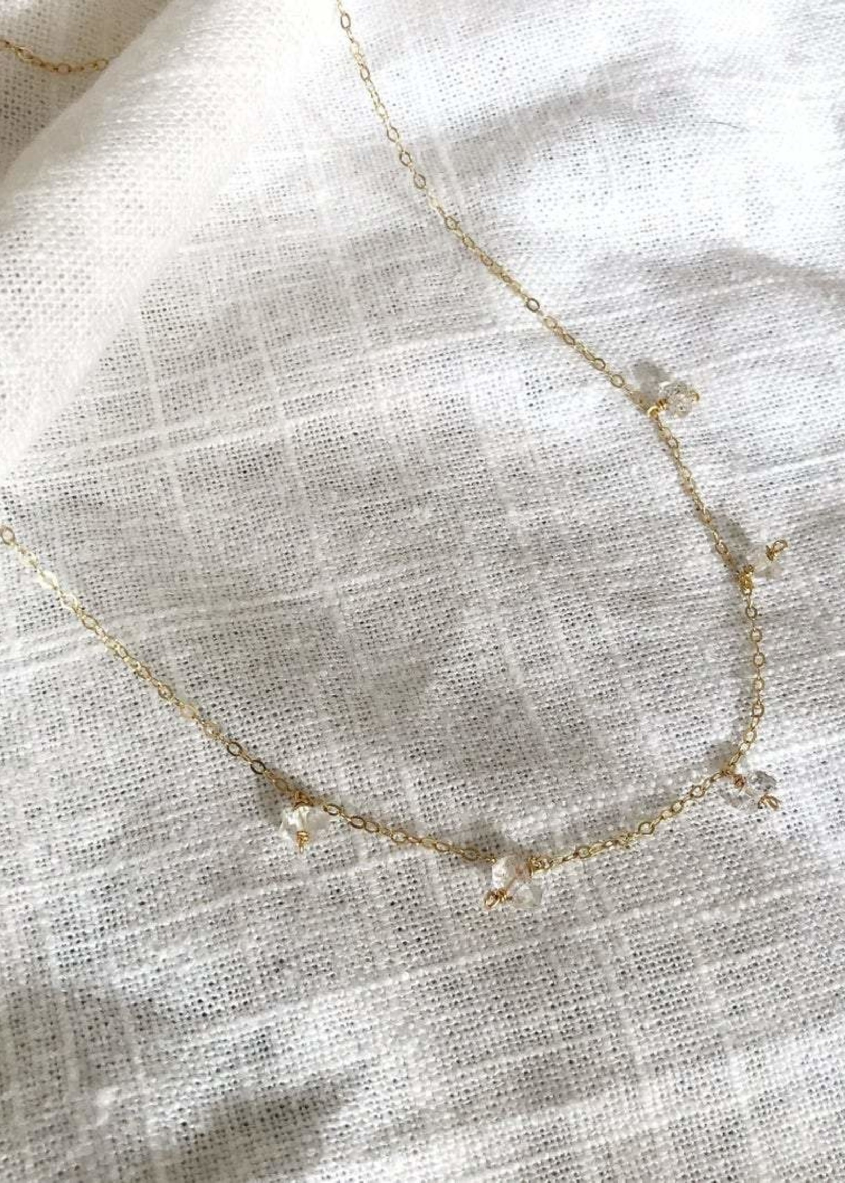 Bofemme Herkimer Drop Necklace