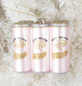 Hard Seltzer Pack Ornament