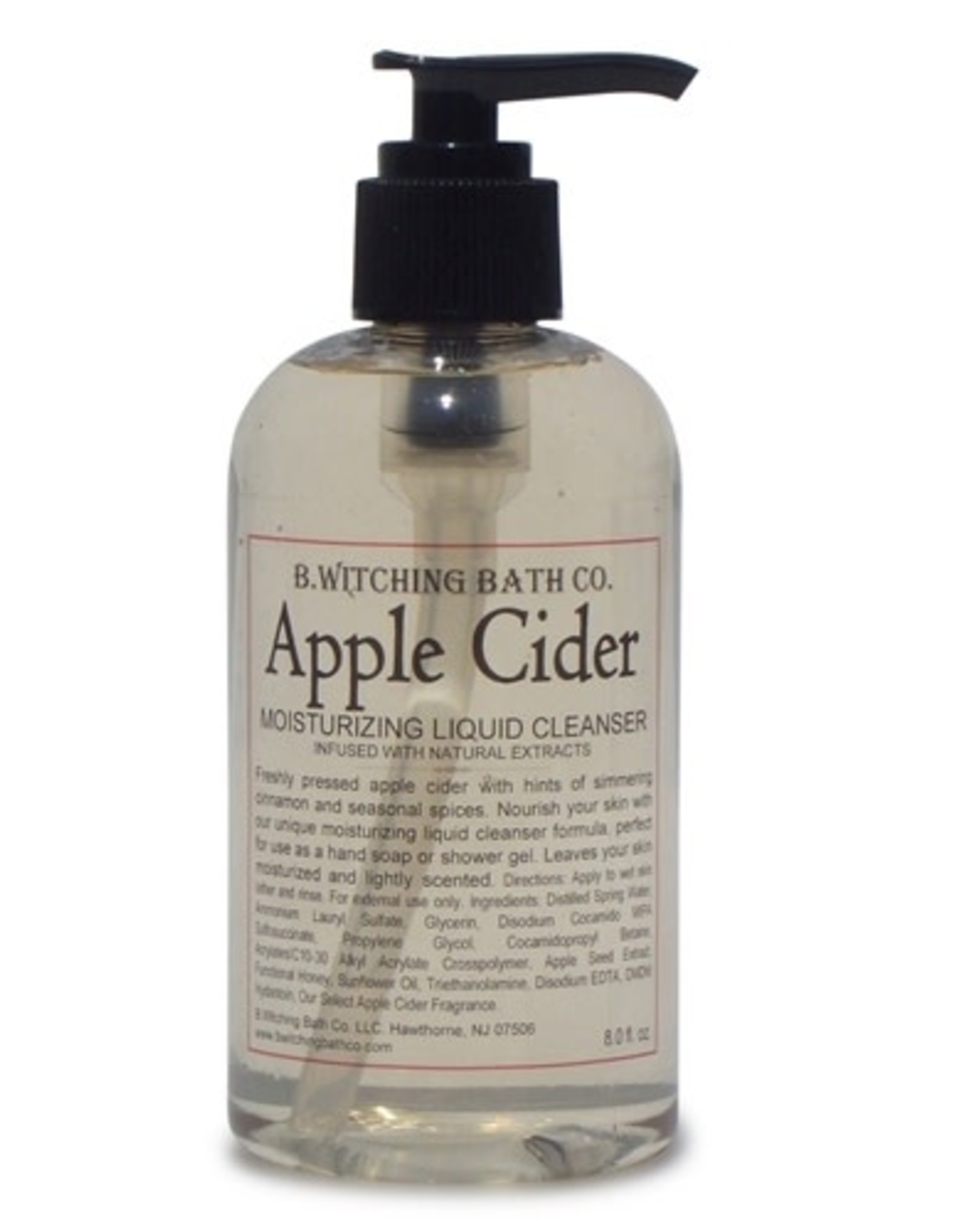 Apple Cider Moisturizing Liquid Cleansers