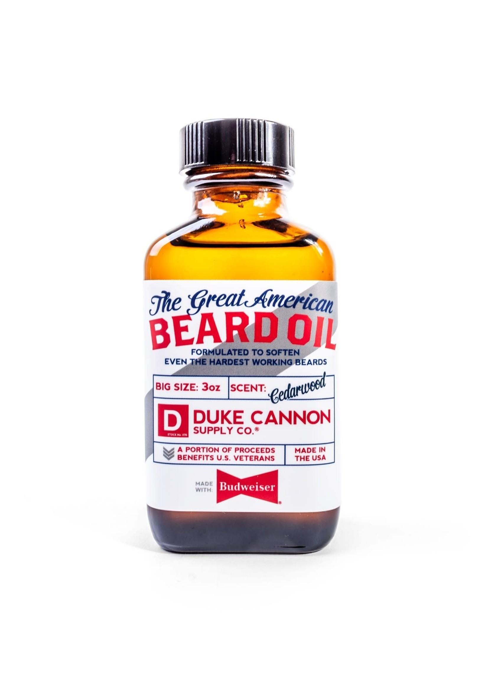 Great American Budweiser Beard Oil