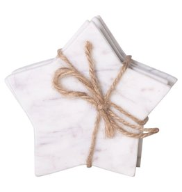 Marble Star Shaped Coasters