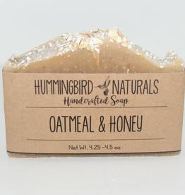 Hummingbird Naturals Oatmeal & Honey Soap