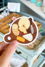 Elyse Breanne Design Cheese Board Sticker