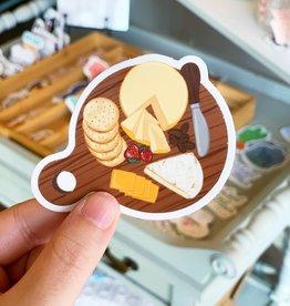 Elyse Breanne Design Cheese Board Sticker