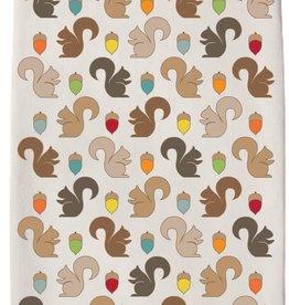 Squirrels Tea Towel