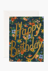 Garden Birthday Card