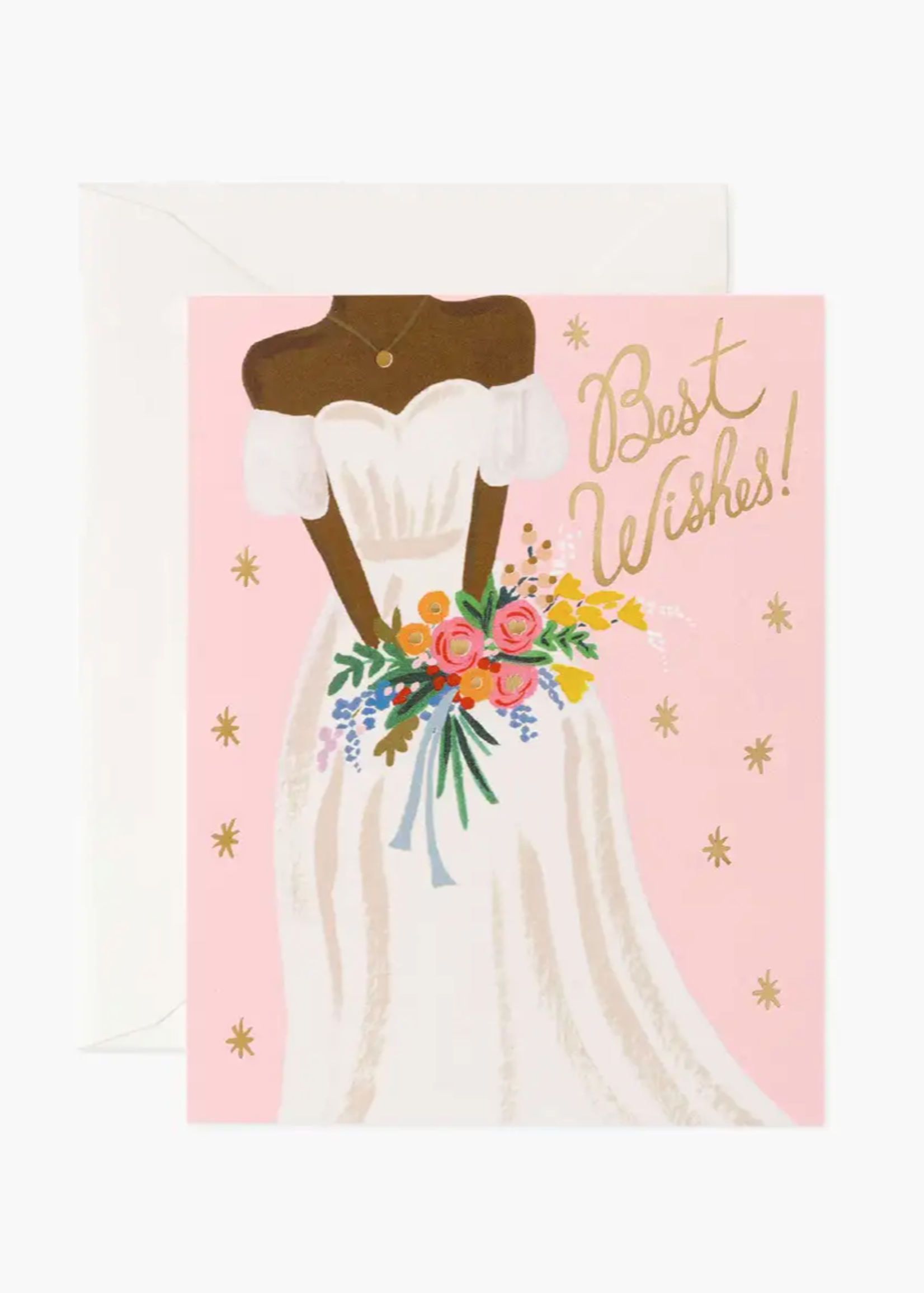 Beautiful Bride Rose Card