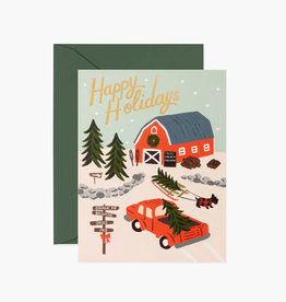 Boxed set of Holiday Tree Farm Cards