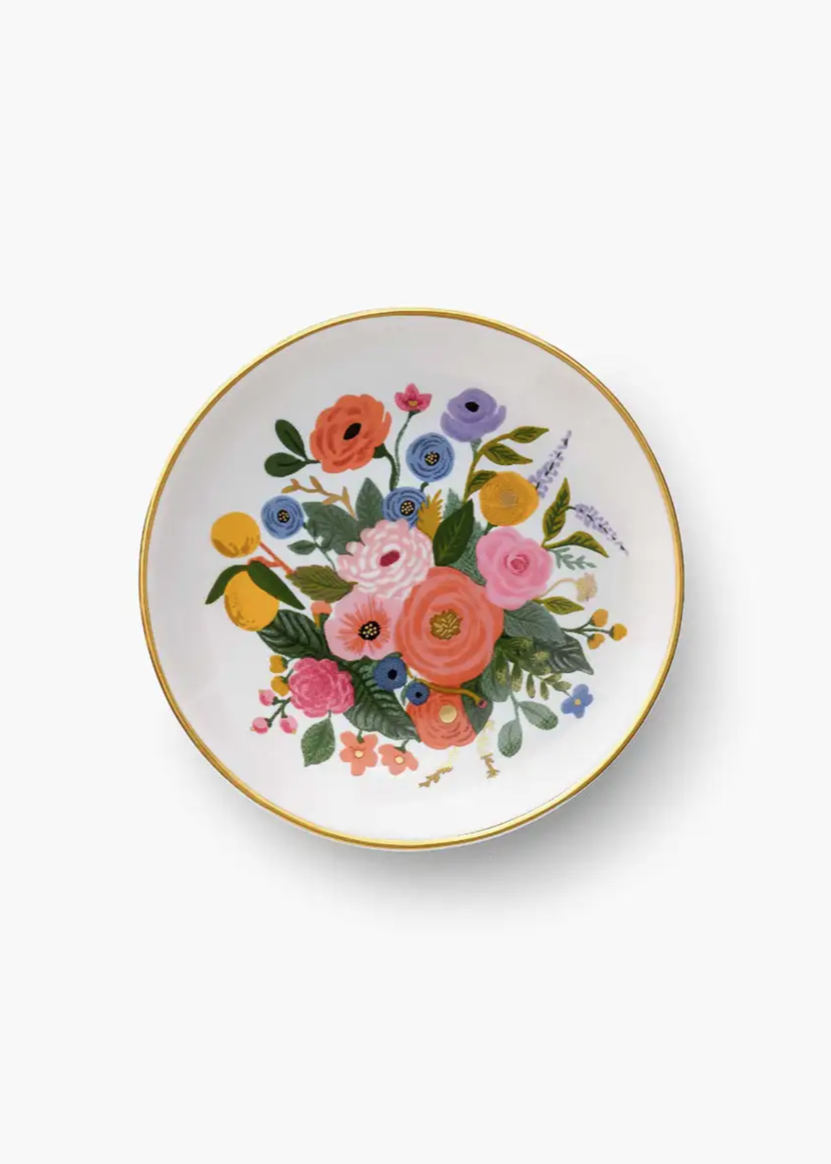 Garden Party Bouquet Ring Dish