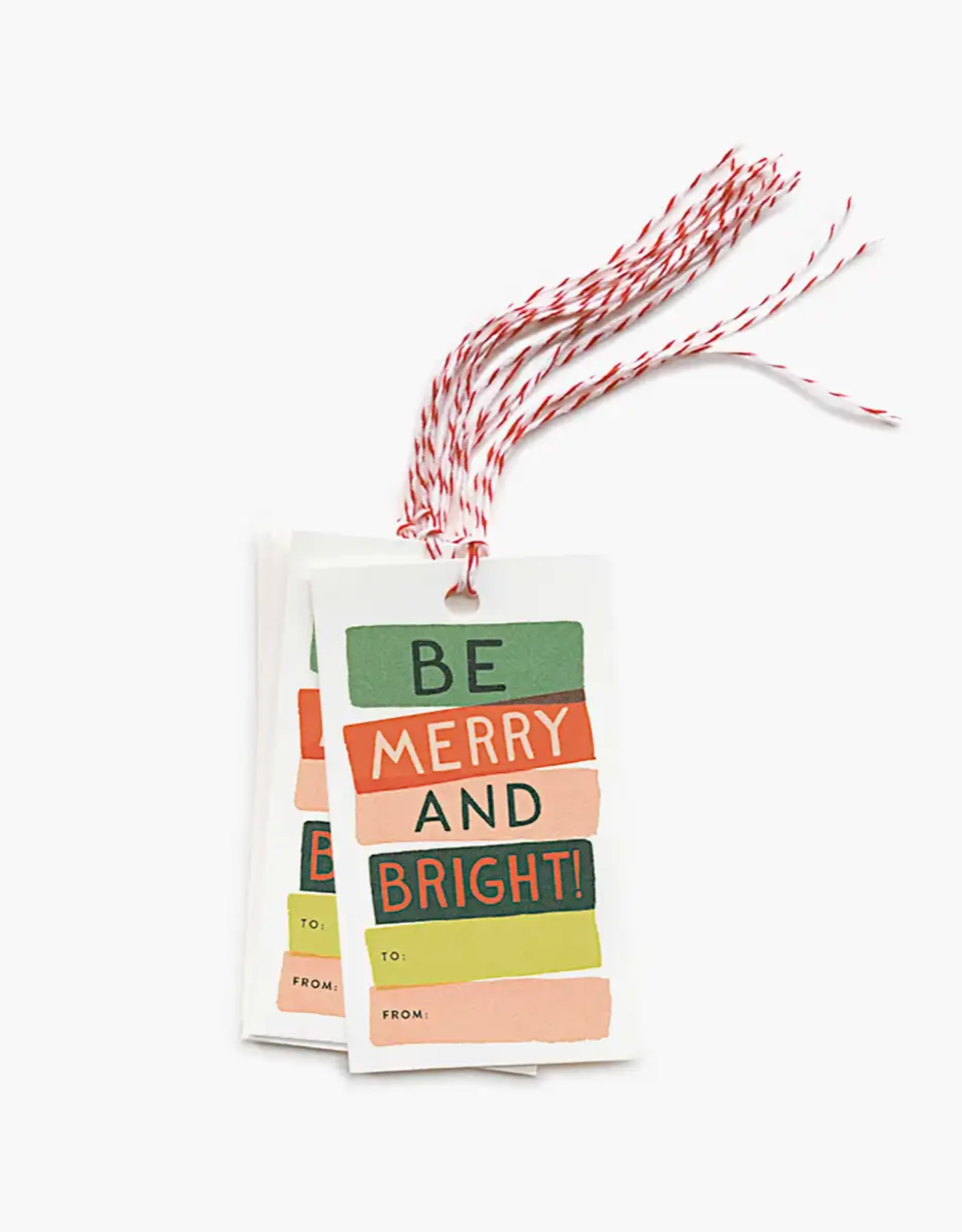Be Merry and Bright Tag