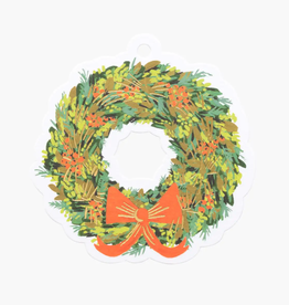 Pack of 8 Wreath Die-Cut Gift Tags