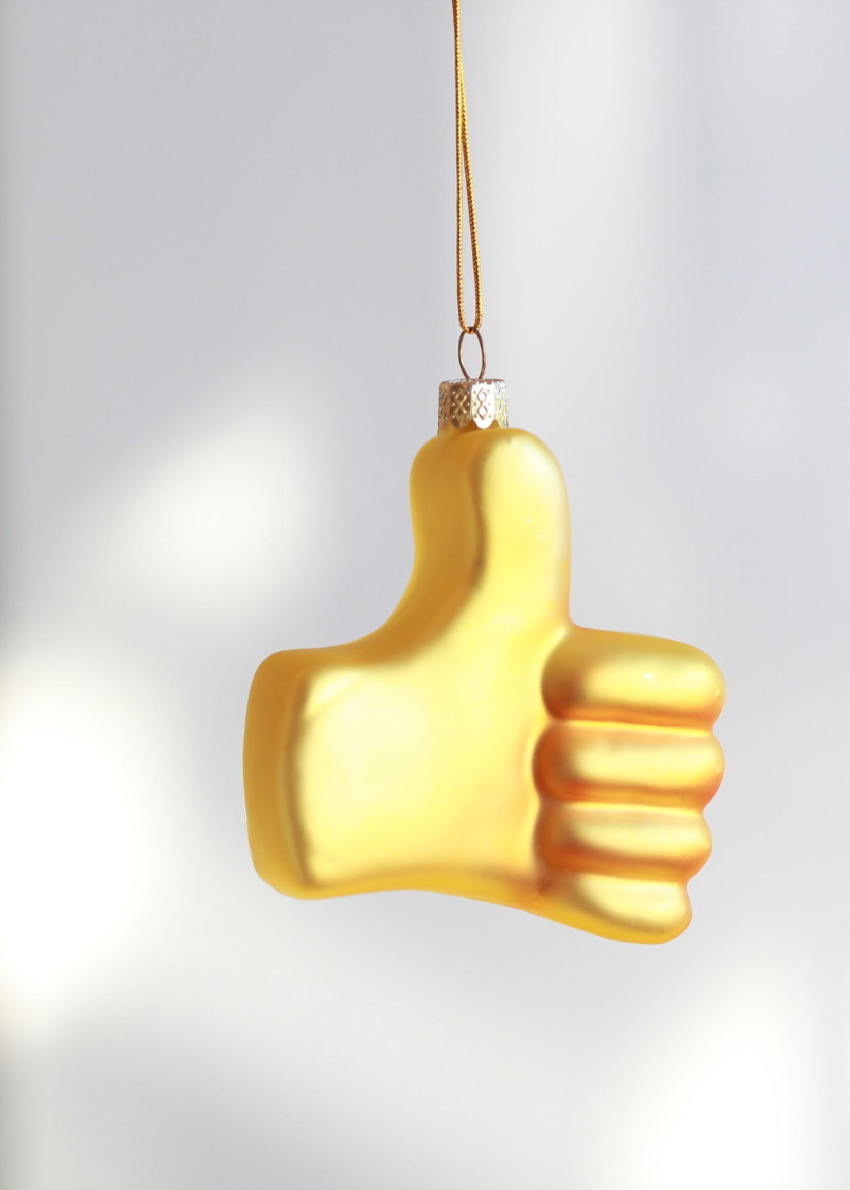 Thumbs Up Emoji Ornament