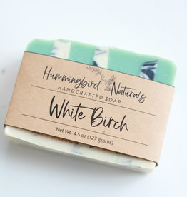 Hummingbird Naturals White Birch Bar Soap