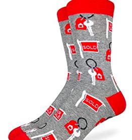 Good Luck Sock Mens Real Estate Socks