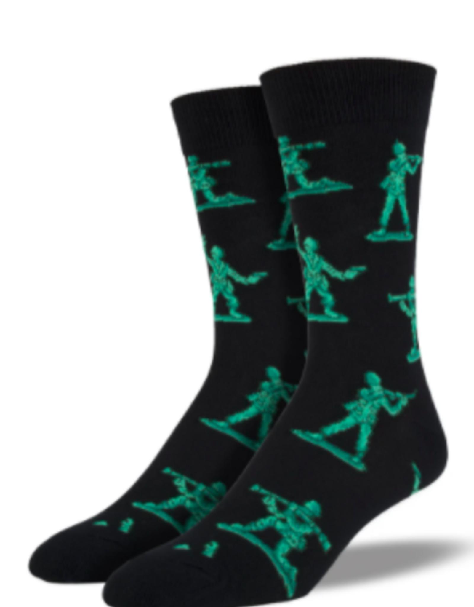 Good Luck Sock Toy Soldier Socks