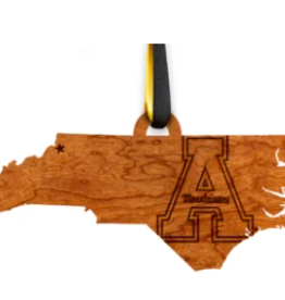 LazerEdge Appalachian State Ornament