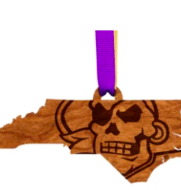 LazerEdge East Carolina Ornament