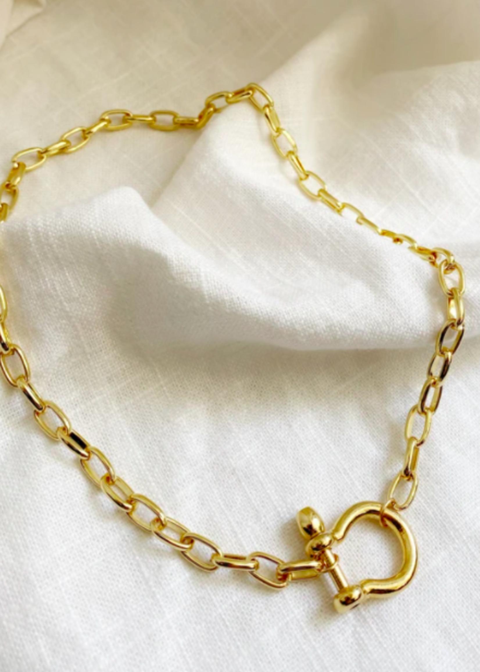 Bofemme Bofemme Celine Gold Necklace