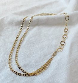 Bofemme Bofemme Aperol Gold Necklace