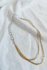 Bofemme Bofemme Aperol Mixed Metal Necklace