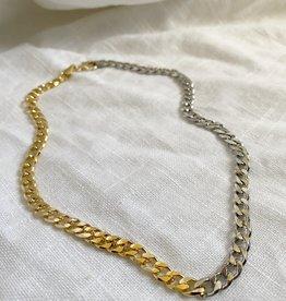 Bofemme Bofemme Two Edged Necklace