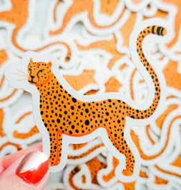 One & Only Paper Cheetah Sticker