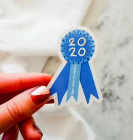 One & Only Paper 2020 Participation Sticker