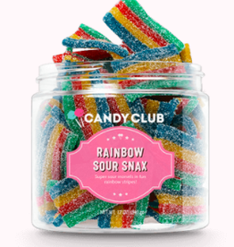 Candy Club Rainbow Sour Belts Candy