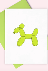 Balloon Dog Card