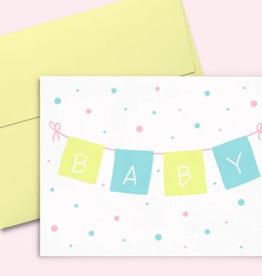 Baby Banner Card