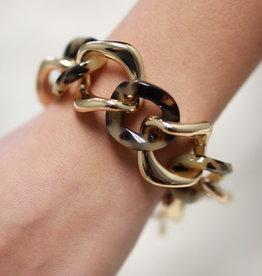 Erin McDermott Trunk Show B1 Chain Tortoise Bracelet