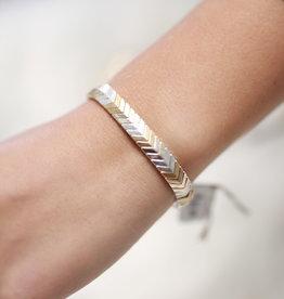 Erin McDermott Trunk Show B4 Gold & Silver Bracelet