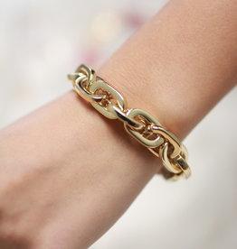 Erin McDermott Trunk Show B6 Gold Chain Bracelet