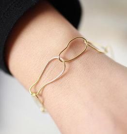 Erin McDermott Trunk Show N9 Paperclip Bracelet