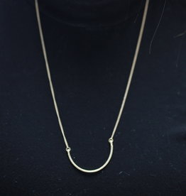Erin McDermott Trunk Show N13 U Necklace