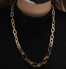 Erin McDermott Trunk Show N19 Chain Tortoise Necklace
