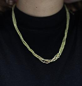 Erin McDermott Trunk Show N21 Gold Bead Necklace