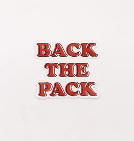 Cardinal Directions CD Stickers- Clear Back the Pack