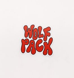 Cardinal Directions CD Stickers- Groovy Wolfpack