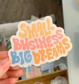 Cardinal Directions CD Stickers- Small Business Big Dreams