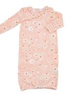 Daisy Chain Kimono Gown 0-3m
