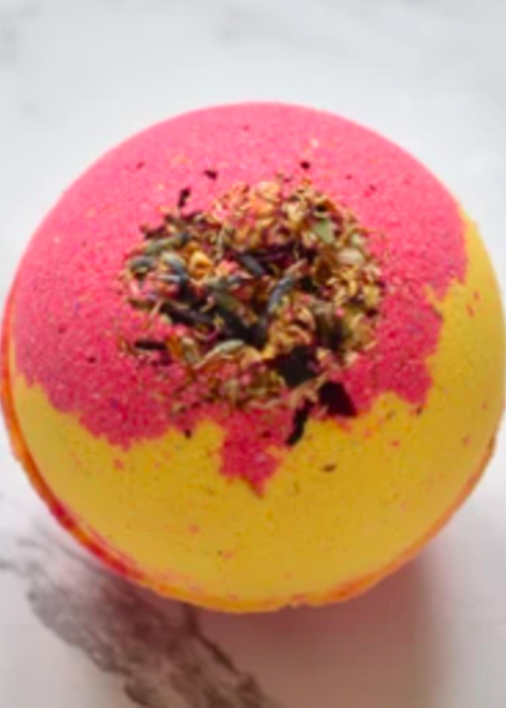 Hummingbird Naturals Pink Grapefruit Bathbomb