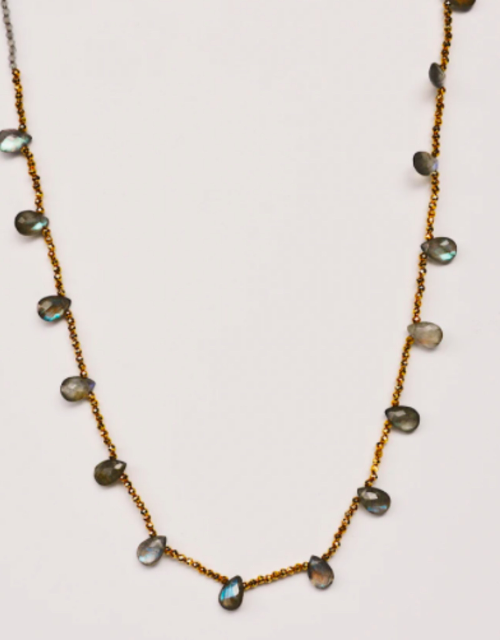 Guinevere Necklace Labradorite