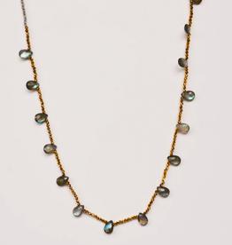 Guinevere Necklace Labradorite