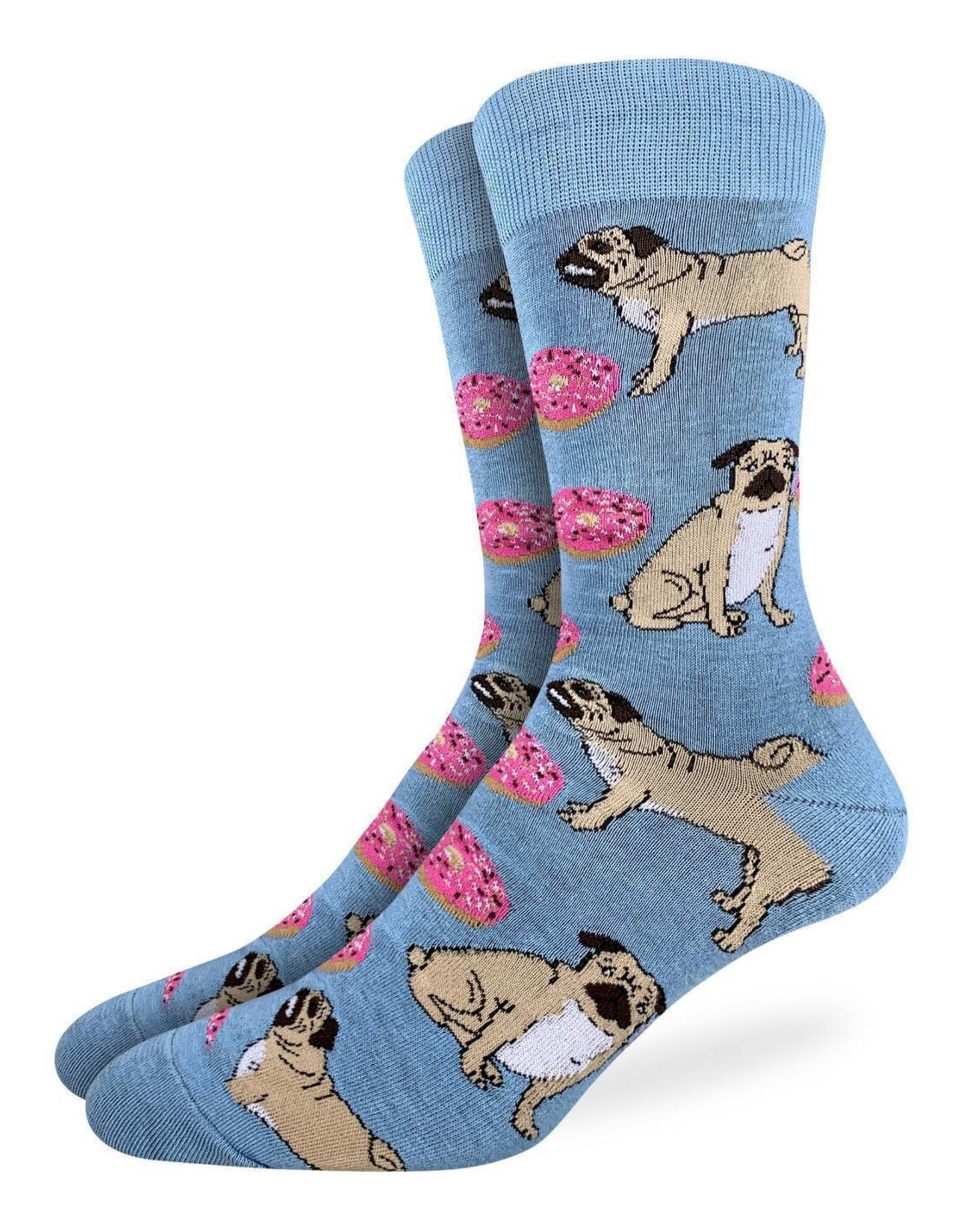 Good Luck Sock Pugs and Donuts