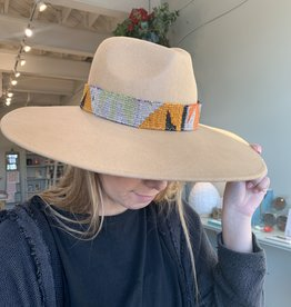 Orijinal Orijinal Wide Brim Tan Hat XV