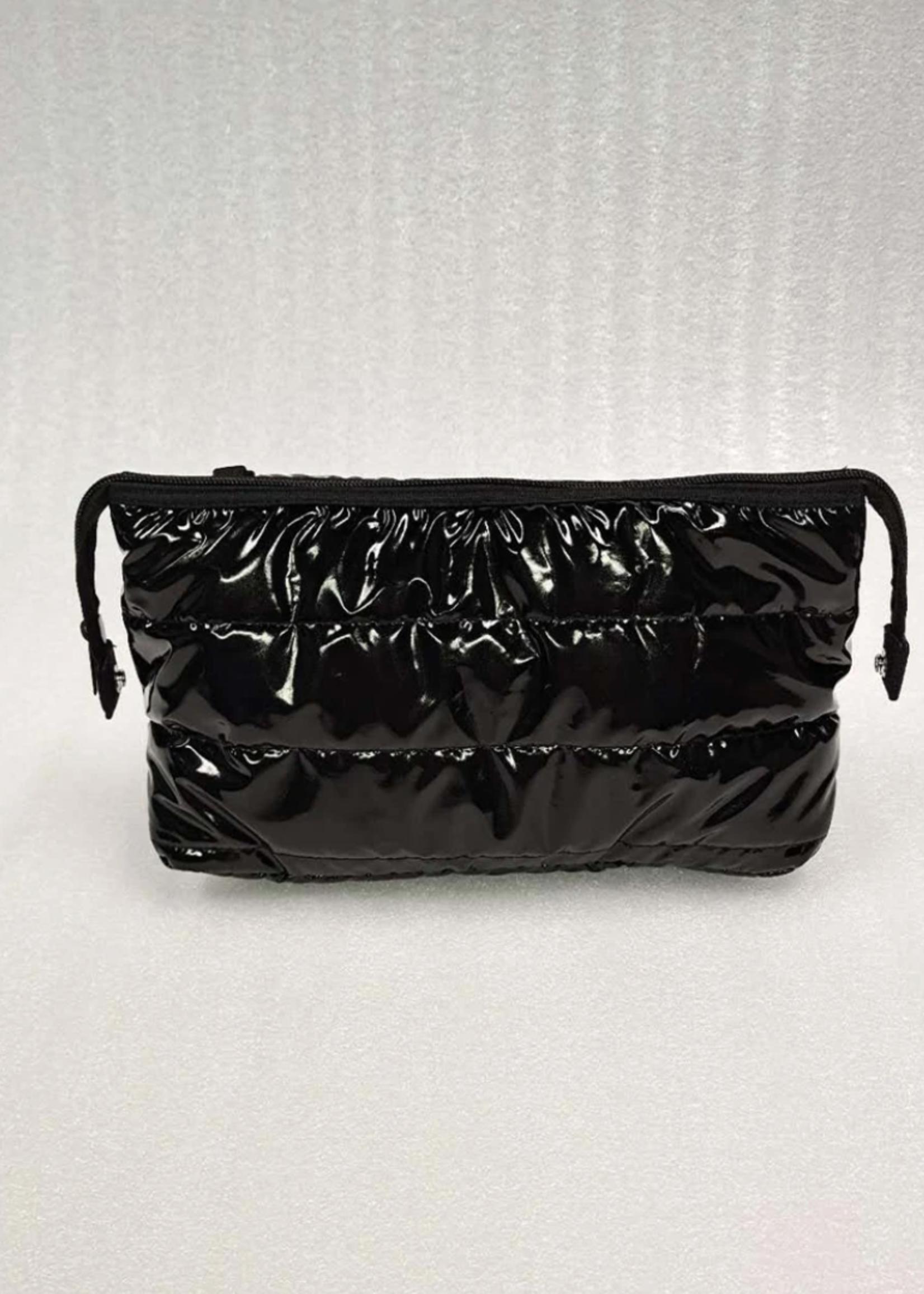 Kyle Travel Pouch Noir Black/Black Zip