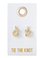 Tie the Knot Studs