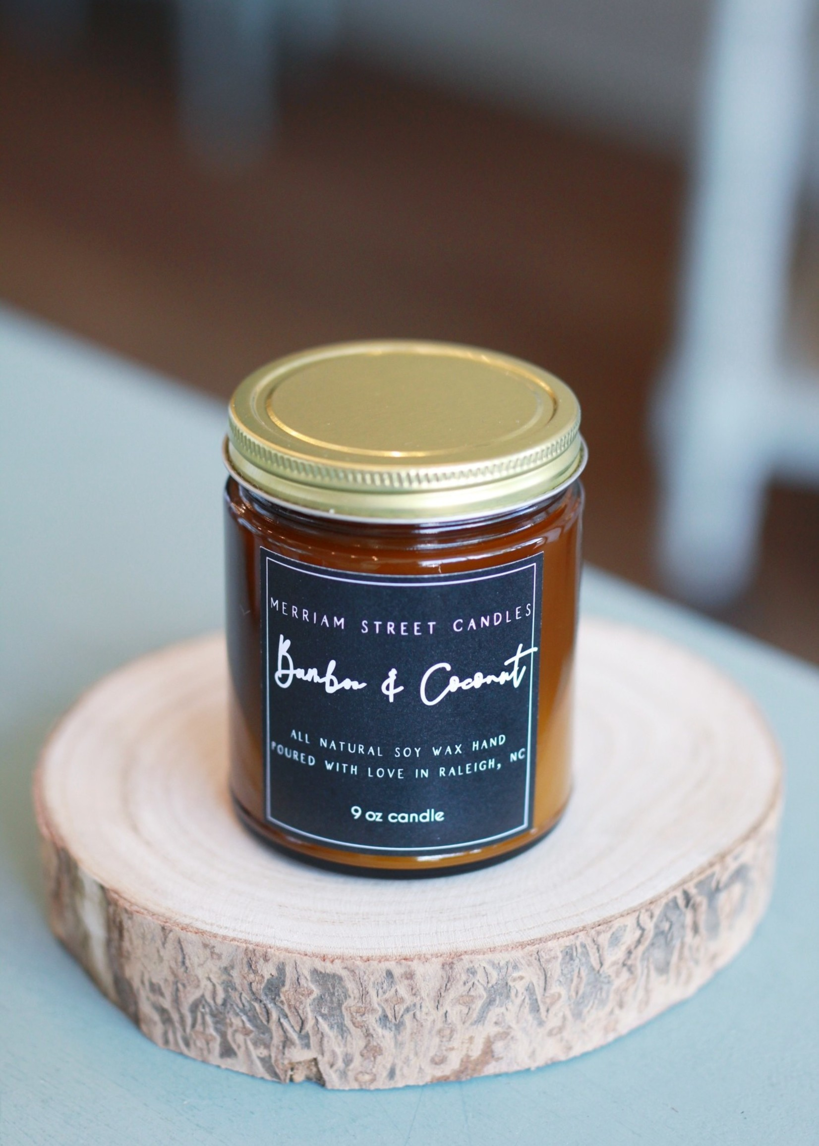 Merriam Street Candles Merriam Street Candles Bamboo and Coconut