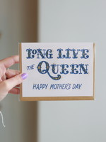 Frog and Toad Long Live The Queen Mothers Day Card